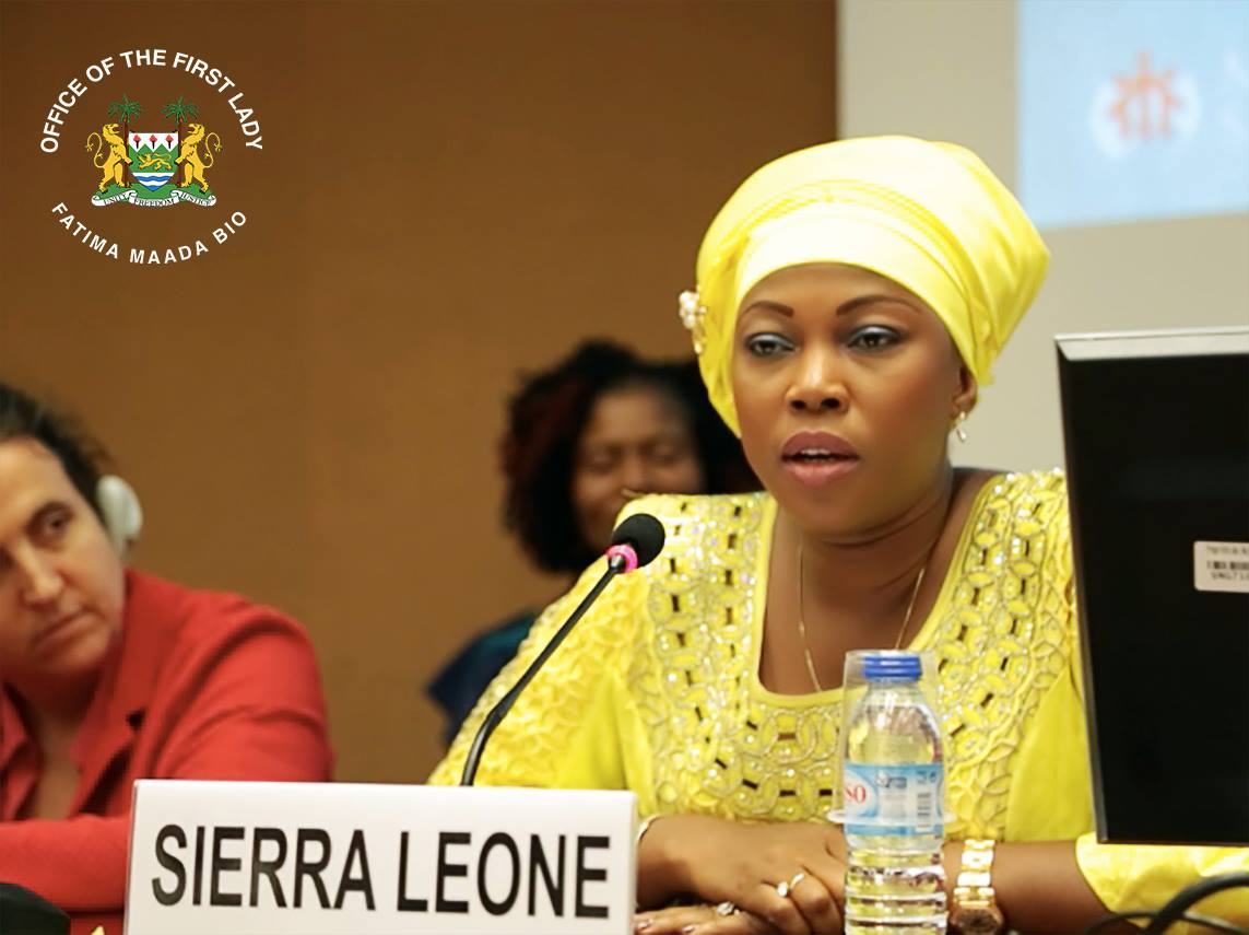 First Lady Wants to Help Develop Agric in the SLCS