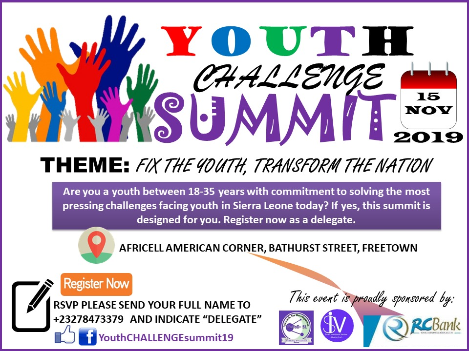 Network for Development-SL to Organize Youth Summit