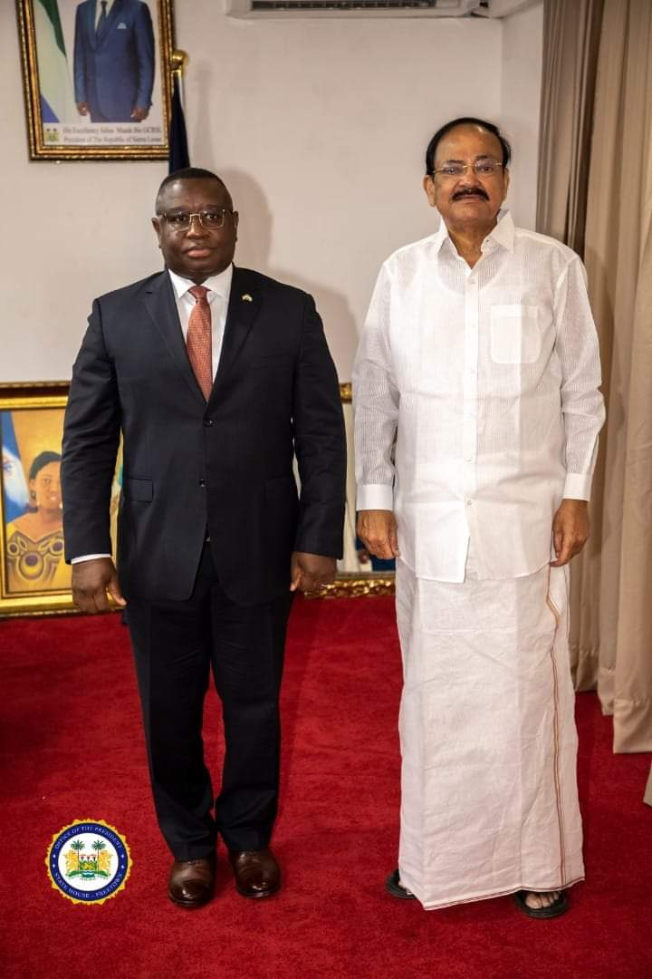 India and Sierra Leone sign $30 million loan to boost rice production.