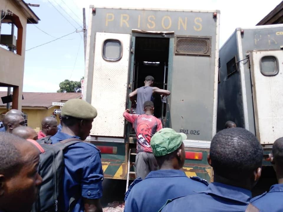150 Male Inmates Moved to Mafanta Correctional Centre