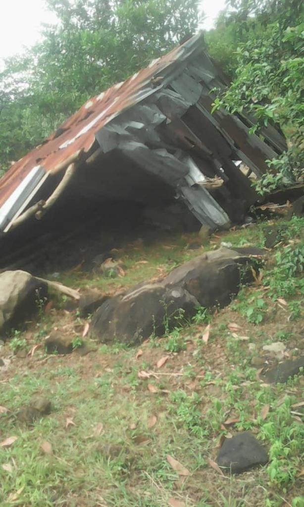 Evidence of damages to Madam Mangu's property