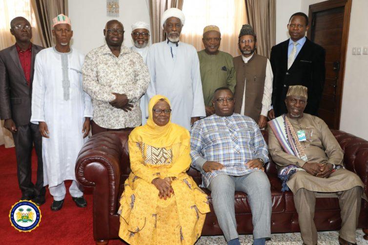 Inter Religious Council Pays Courtesy Call on President Bio
