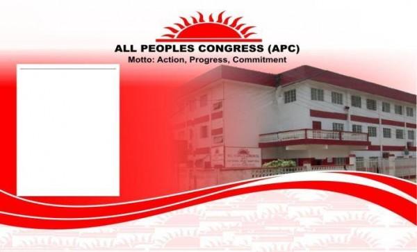 APC MESSAGE OF SINCERE APPRECIATION