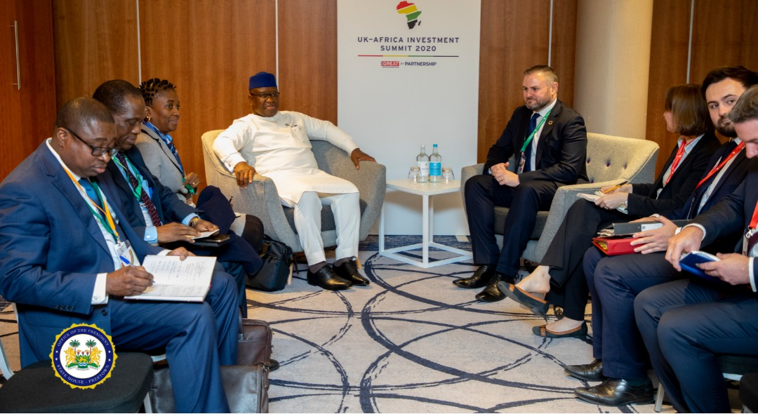 My government will diversify Sierra Leone's economy – says president Bio at London Summit