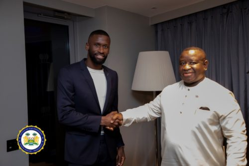 Rüdiger donates $100,000 to Sierra Leone at UK-Africa Investment Summit in London – will he invest