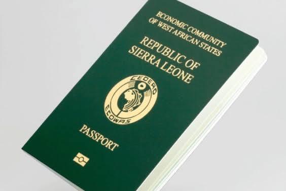 SALONE MAINTAINS STABLE PASSPORT PRICE