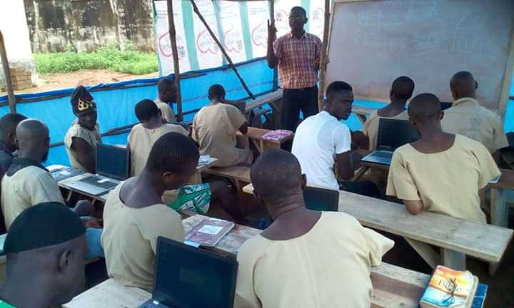 UniMak Conducts Exams for Inmates