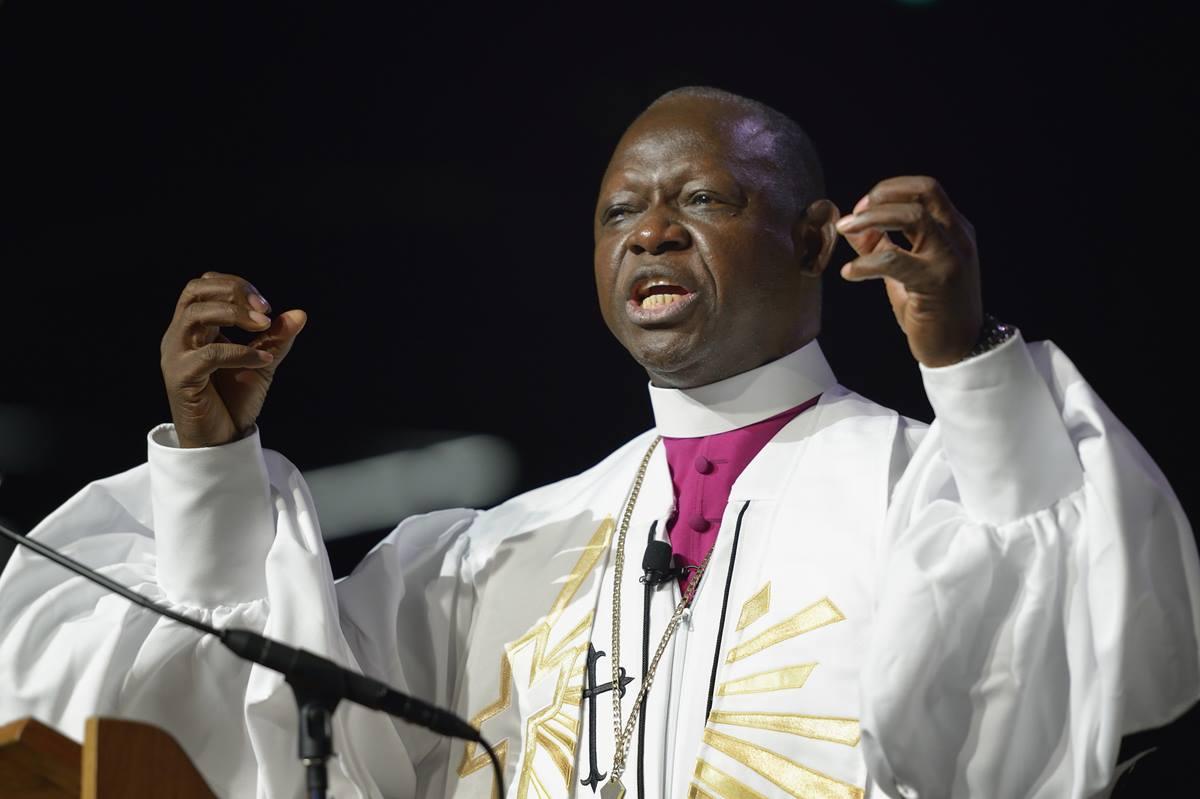 Au Revoir Bishop Yambasu!!!