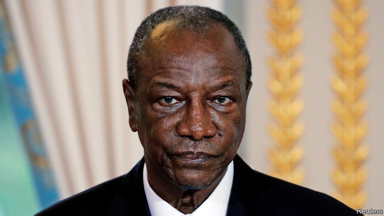 Guinea's Alpha Condé: an oddity of power!