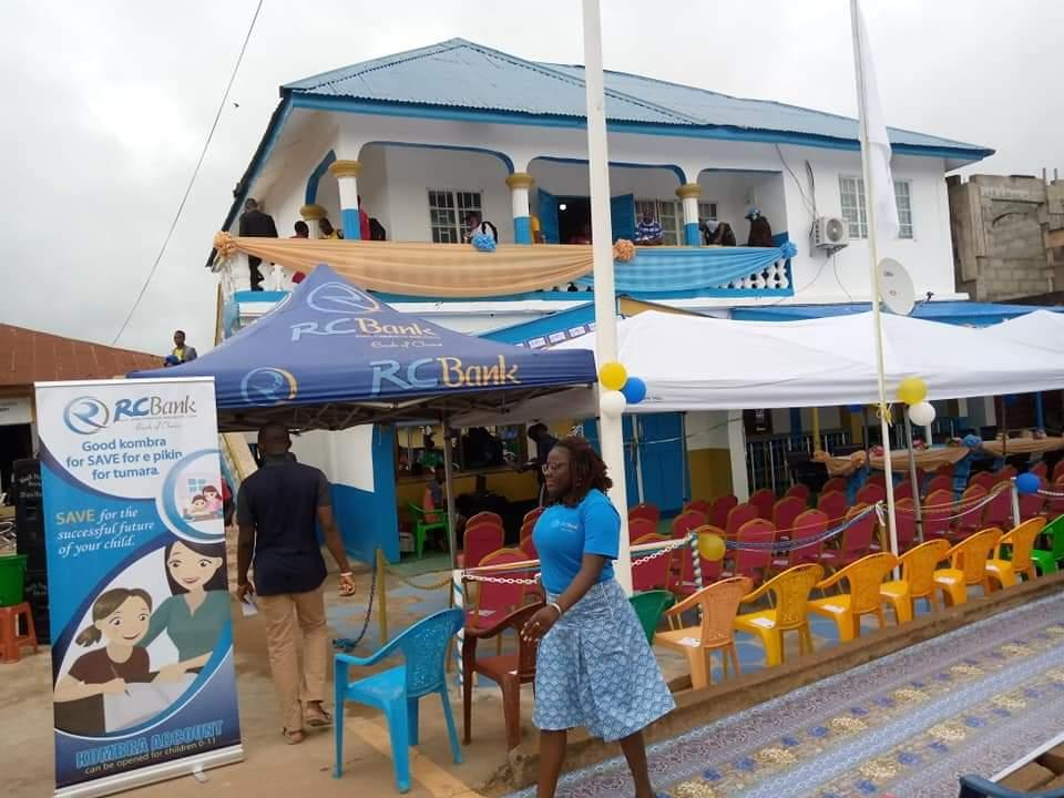 Rokel Commercial Bank Lights Kailahun