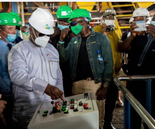 President Bio is Proud to Open the Biggest Oil Plantation in Africa